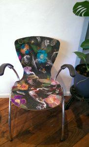 natalie wool - upcycle stoel
