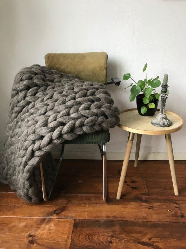 natalie wool - xxl plaid armbreien workshop