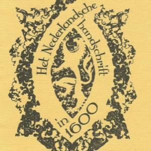 paleografie het nederlandsche handschrift
