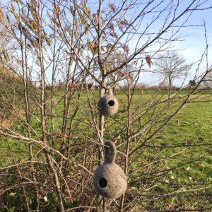 natalie wool - vogelhuisje vilt