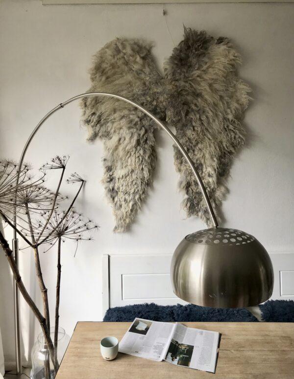 Woolen Wings grijs